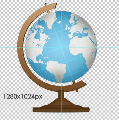 Globe PSD
