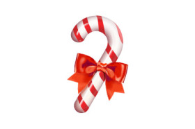 Candy Cane Icon for Photoshop