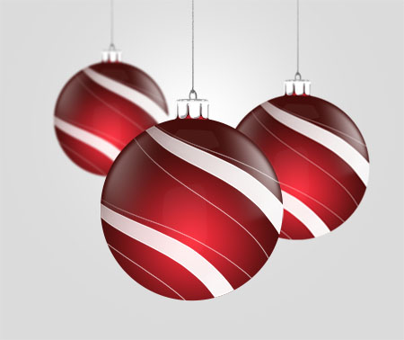 Christmas Balls PSD