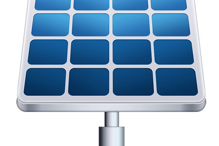 Solar Panel Icon Vector Photoshop