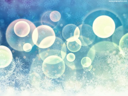 Blue Winter Background in High Resolution