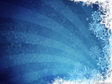 Blue Winter Grunge Background