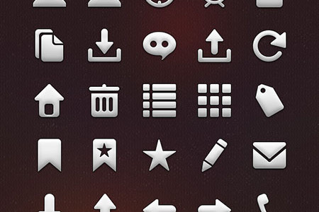 Retina Ready Tab Bar Icons for Apple Devices