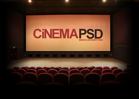 Movie Theater Template PSD