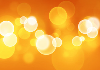 orange-bokeh-background