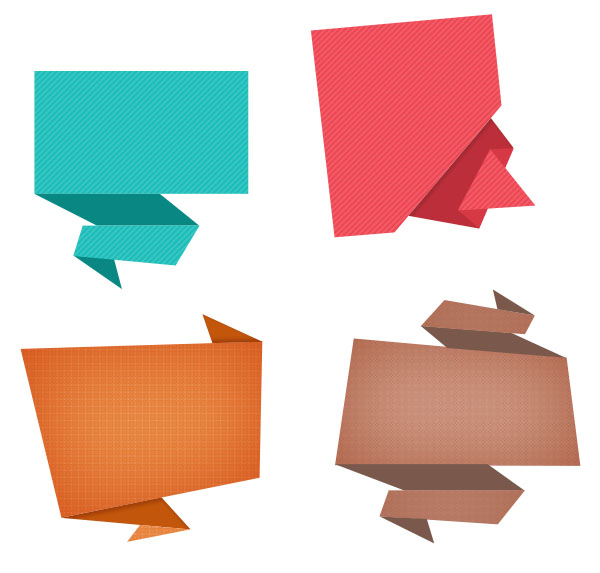 origami-speech-bubbles