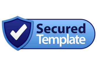 Secure Label Template
