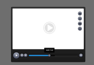 video player skin Templates