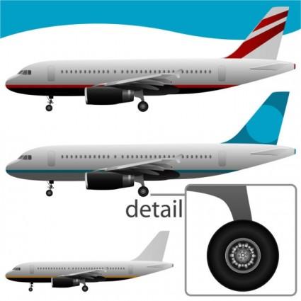 airplane vectors
