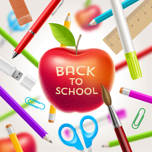 back to school background - photo #4