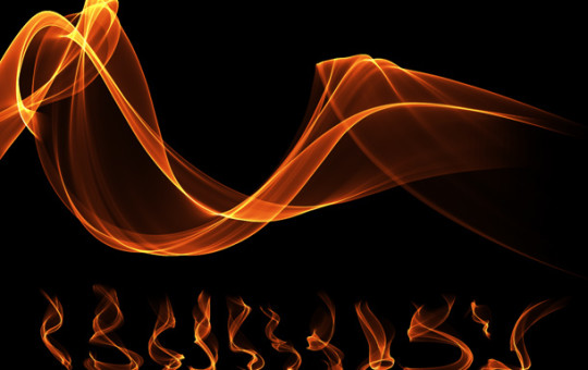 Transparent Fire Flame Effects PNG