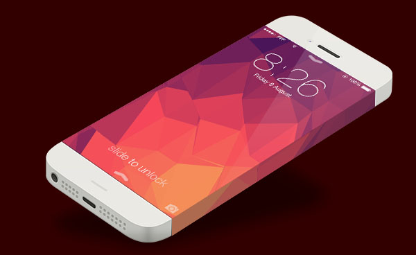 iPhone 6 PSD Template
