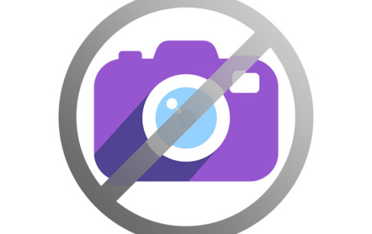 No Photography Icon