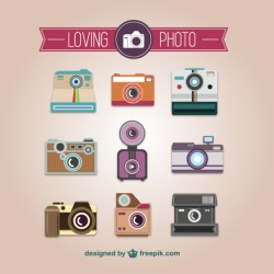 Vintage Camers Icons