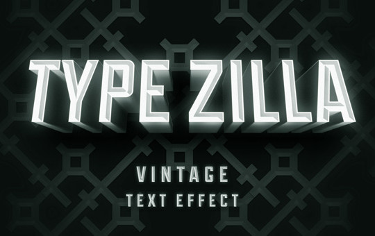 Vintage Movie Text Effect