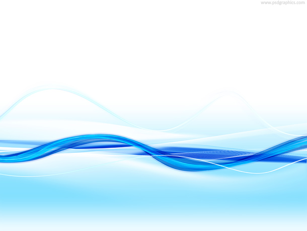 Light Blue Water Wave Background