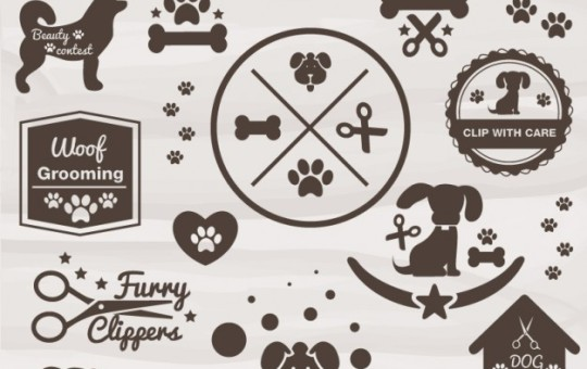 Pet Grooming Icons